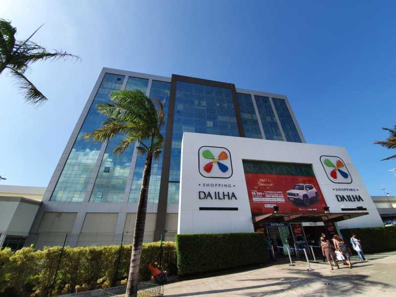 Sala comercial n° 1.008, Torre 01, 10° andar, Centro Empresarial Shopping da Ilha - Lance Inicial: R$245.434,88- Avaliação: R$245.434,88